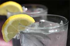 Rodajas de Limon en Bebidas