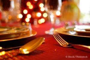 Еда во время праздников