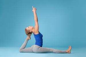 Поза из йоги