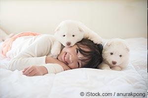 불안 해소에는 개가 최고지만 다른 애완동물들도 뛰어난 효과가 있습니다.