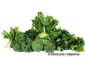绿叶蔬菜的益处