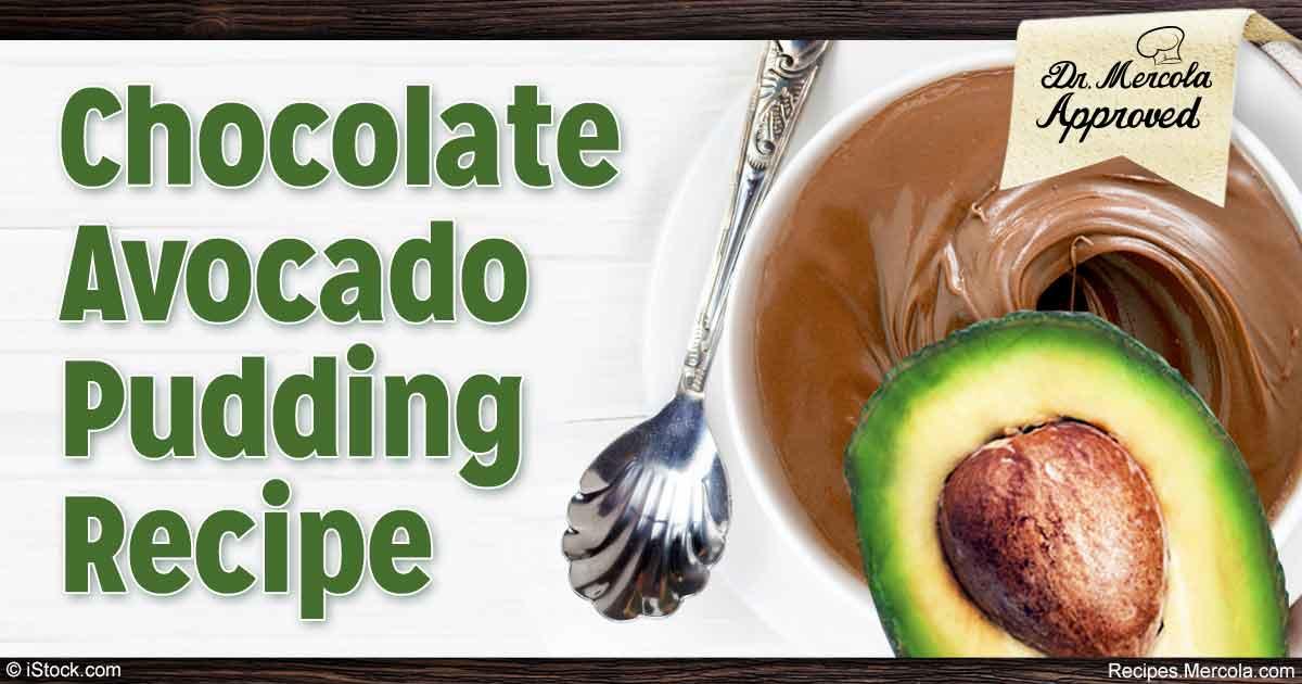Healthy Chocolate Avocado Pudding Recipe