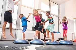 Дети и спорт