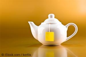 Café noir le matin et thé vert l'après-midi