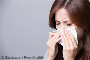 알레르기, 감기, 및 음식 불내성