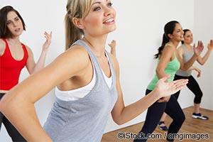 Занятия зумба-фитнесом