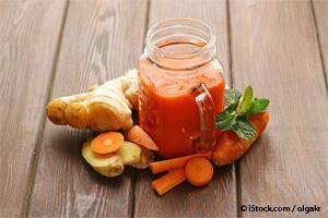 Trio de superalimentos: gengibre, cúrcuma e cenoura