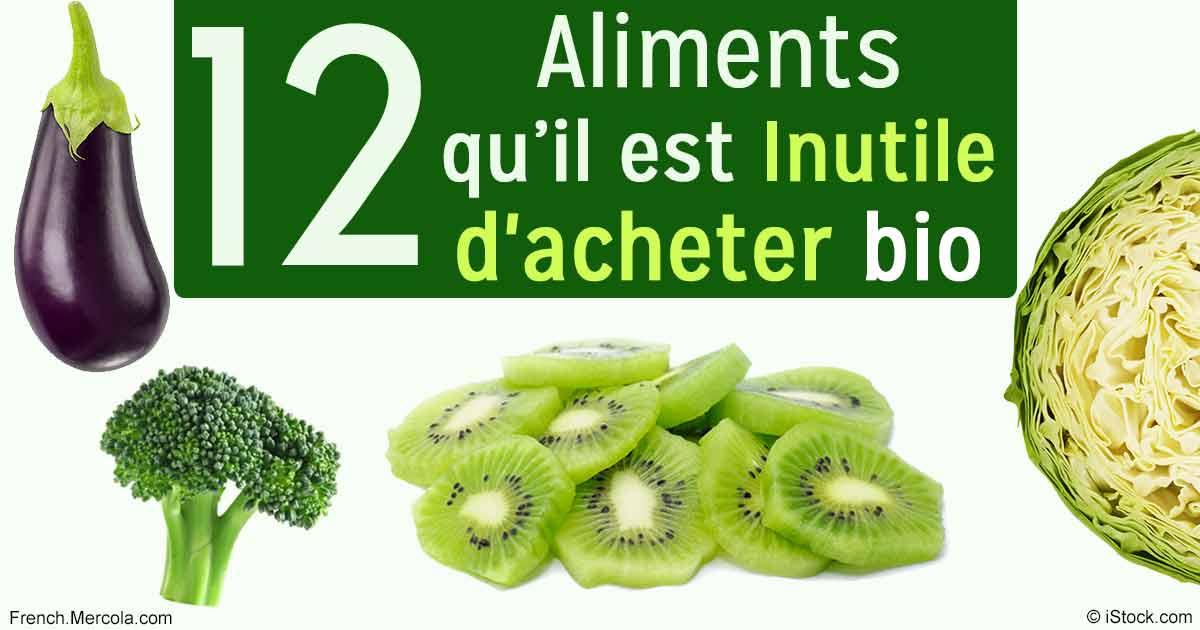 31d61035fbe Aliments qu il est inutile d acheter bio