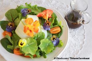 Pétales comestibles - des fleurs aussi savoureuses que jolies