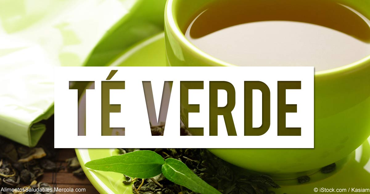 Beneficios del Te-Verde - Mercola.com