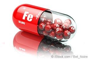 pílula de ferro