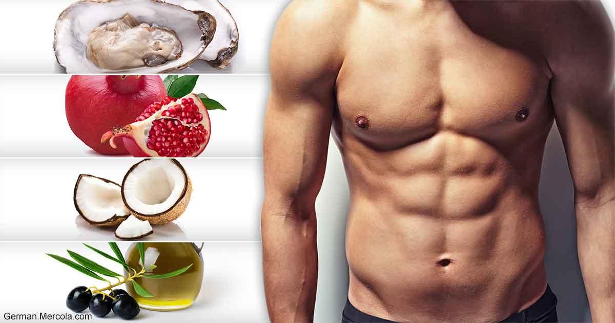 testosteron erhöhen durch lebensmittel
