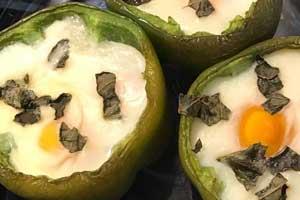 Savoureuse recette facile de poivrons farcis aux œufs