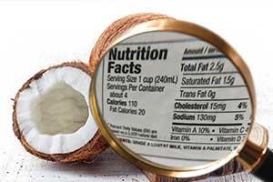 椰子油具有抗病毒和抗菌功效