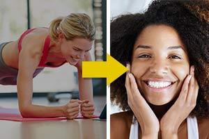 Pele Limpa e Melhoria do Humor - Dois Benefícios Frequentemente Esquecidos do Exercício