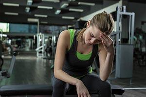 exercitar-se quando se está doente