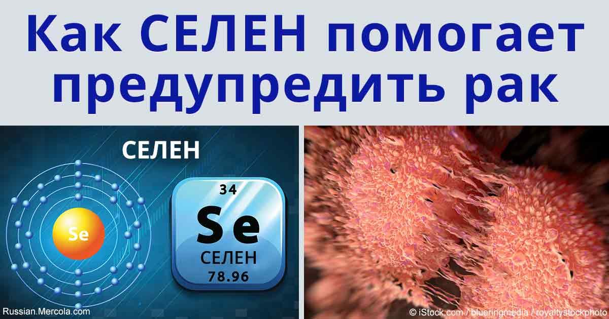 Способен ли селен защитить от рака?