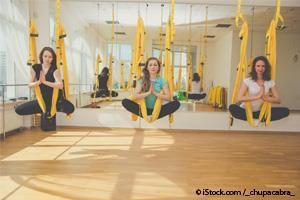 ioga aérea
