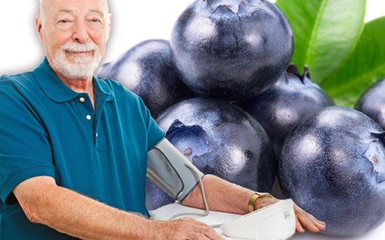 蓝莓的功效:有助于降低血压