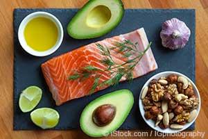 alimentos ricos em gordura saudável