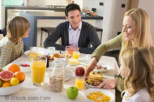 Польза семейных обедов для здоровья