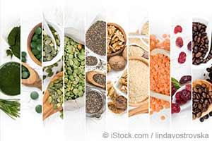 超级食物混合切片