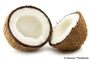 코코넛이 몸에 좋은 점은?