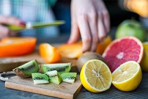 употребление цельных фруктов