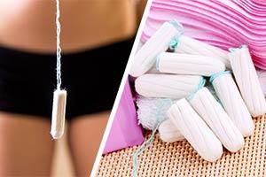 Tampony i podpaski
