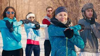 成功する冬運動の秘訣