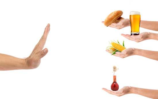 질염을 예방/치료하기 위해 피해야 할 음식들