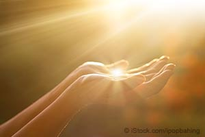 Lumière du soleil