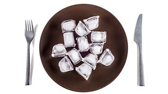 Haben Sie Verlangen nach Eis? Sie könnten unter Eisenmangel leiden