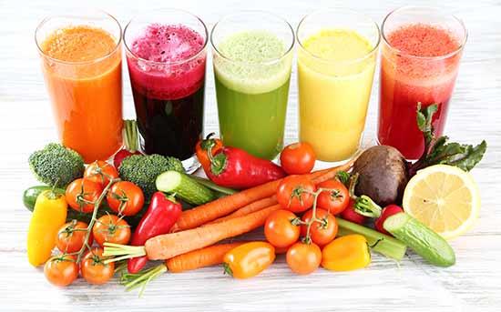 gesundheitliche Vorteile von Entsaften