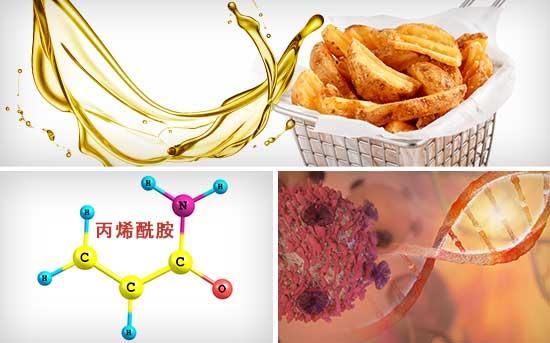神经毒性化学品丙烯酰胺潜伏在油炸食品中