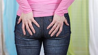 Ból w okolicy pośladków: zespół mięśnia gruszkowatego