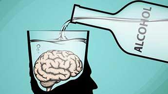 뇌 손상을 일으키는 알코올