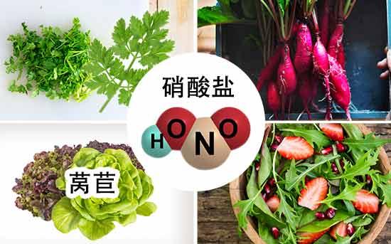 富含健康膳食硝酸盐的食物