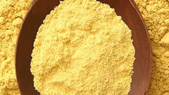Semente de mostarda em pó