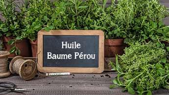 L'huile essentielle de baume du Pérou est-elle un choix judicieux pour soigner les plaies ?