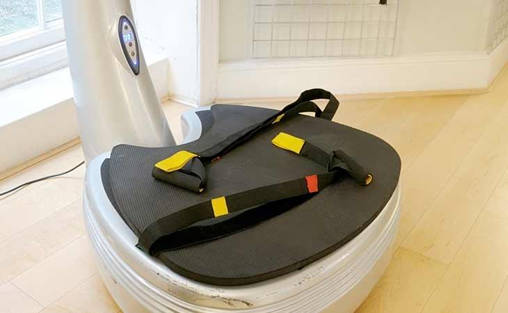 健身房的震动训练机