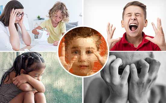 儿童精神分裂症的症状