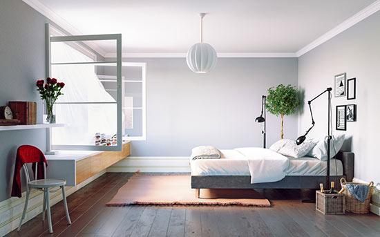 깨끗한 침실