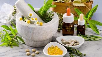 homöopathische Produkte