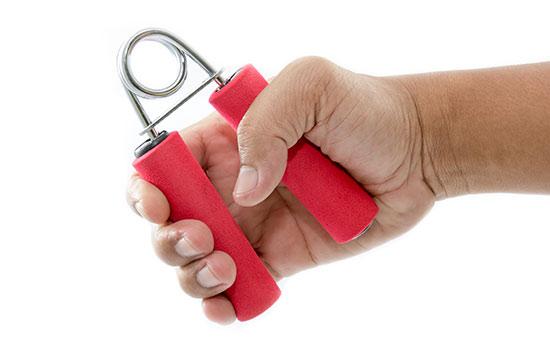 O treinamento isométrico para aumento da força nos punhos