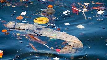 바다 속 플라스틱 폐기물