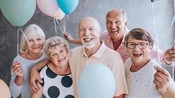 Die haltung zum altern und einem zu schnellen leben