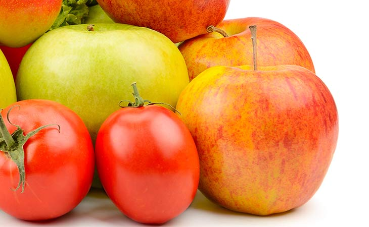 用番茄和苹果来呵护您的肺