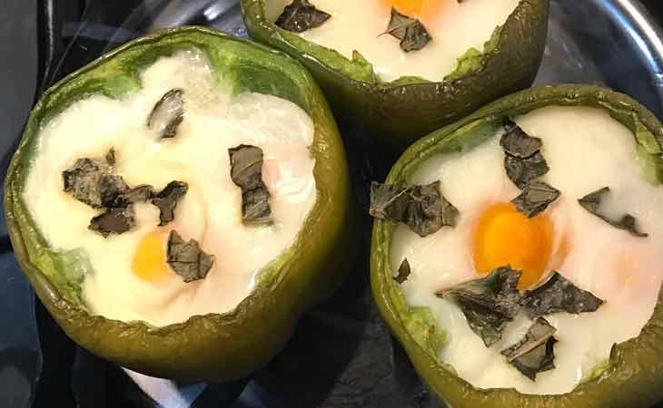 灯笼椒鸡蛋食谱