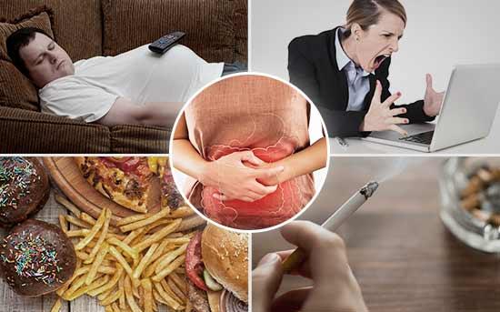 염증이 유발시키는 요인들